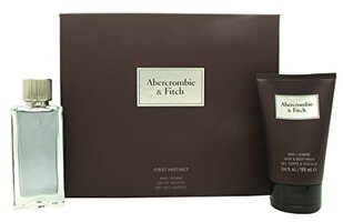 ABERCROMBIE & FITCH FIRST INSTINCT EDT 50 ML + GEL CORPO 100ML