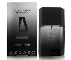 AZZARO UOMO NIGHT TIME EDT 100 ML SPRAY INSCATOLATO