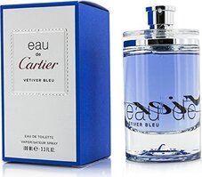 CARTIER EAU DE VETIVER BLEU EDT 100 ML SPRAY INSCATOLATO