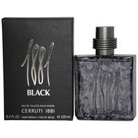 CERRUTI 1881 BLACK UOMO EDT 100 ML SPRAY INSCATOLATO