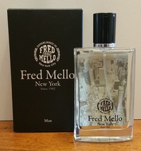 FRED MELLO NEW YORK UOMO EDT 100 ML SPRAY INSCATOLATO