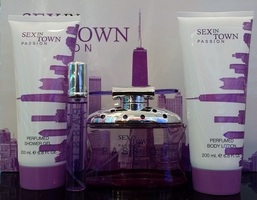 CONCEPT ''V'' DESIGN SEX TOWN PASSION SET EDP100VP+SG200+BL200+E